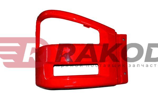 Бампер FAW-J6 правая часть красный