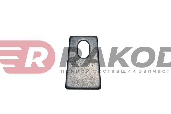 Пластина стопорная пальца тормозного SHAANXI F3000