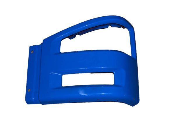 Бампер FAW-J6 правая часть синяя