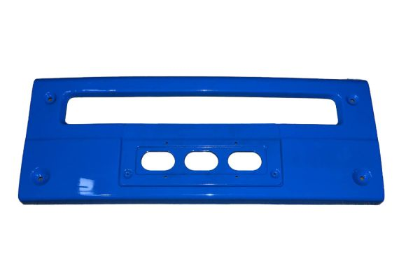 Бампер FAW-J6 центральная часть синяя