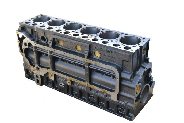Блок цилиндров HOWO ЕВРО-2 CREATEK