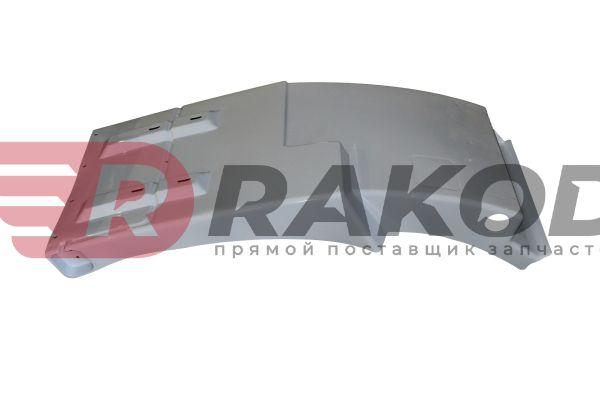 Брызговик передний правый SHAANXI F3000 БЕЛЫЙ