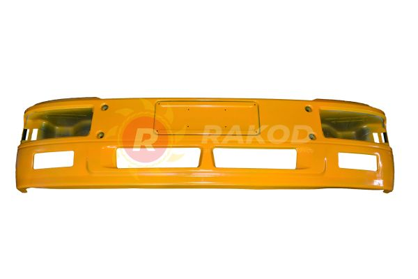 Бампер SHAANXI F2000 ЖЕЛТЫЙ литой металл