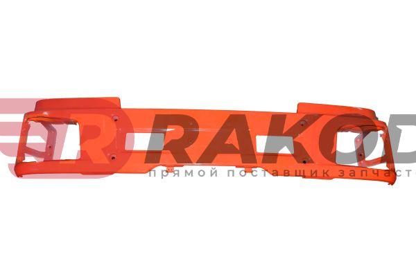 Бампер SHAANXI X3000 оранжевый