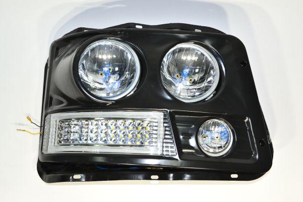 Фара SHAANXI F3000 прав. LED