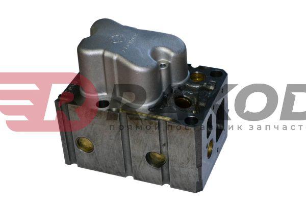 Головка блока цилиндров HOWO ЕВРО-2 в сб. CREATEK