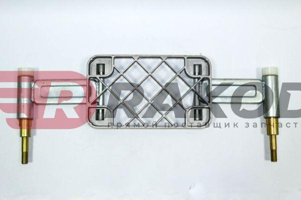 Подножка железная нижняя SHAANXI X3000 лев. прав.