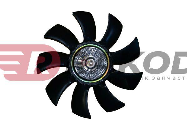 Вискомуфта в сборе с вентилятором FOTON-1051,1061